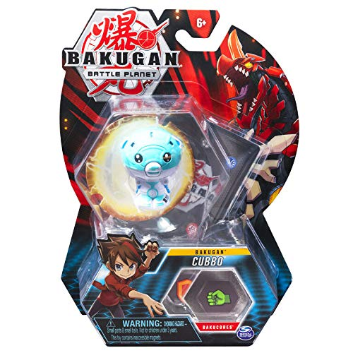 BAKUGAN Battle Planet 2-inch Tall Collectible Action Figure and Trading Card - Cubbo