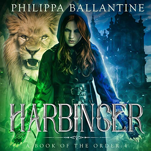 Harbinger audiobook cover art