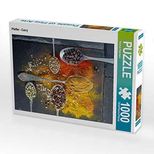 CALVENDO Puzzle Pfeffer - Curry 1000 Teile Lege-Größe 48 x 64 cm Foto-Puzzle Bild von Thomas Siepmann