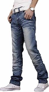 Hashoob Mens Slim Fit Jeans Pants FL-01