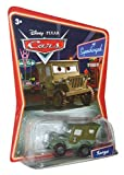 Disney Pixar Cars Supercharged Edition Sarge 1:55 Scale Mattel