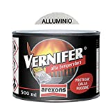 VERNIFER 4767- SMALTO 500 ML GEL ALTA TEMPERATURA ALLUMINIO - ANTIRUGGINE AREXONS