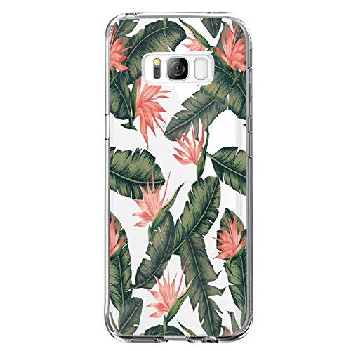 JEPER Kompatibel für Galaxy S8 Hülle, S8 Handyhüllen Crystal Clear Ultra Dünn Flexibel Silikon Case Transparent Premium TPU Weiche Schutzhülle Slimcase Tasche für Galaxy S9 (S8, 09)