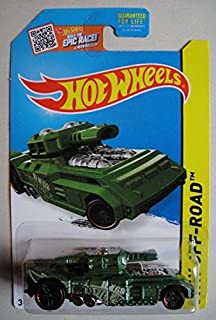 HOT WHEELS HW OFF ROAD GREEN INVADER 87/250 BUILD THE EPIC RACE CARD
