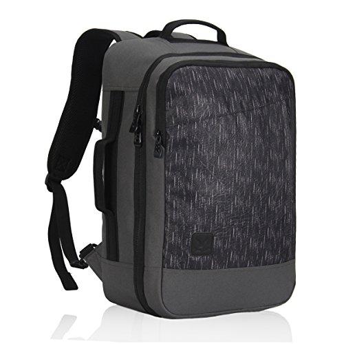 Veevan Zaino da Viaggio Trolley Zaino per Weekend Può contenere Laptop di 15.6 pollice 26 Litri Grigio
