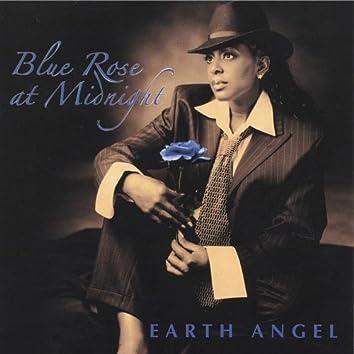 Blue Rose At Midnight