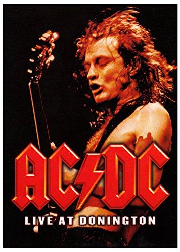 AC/DC Posterflagge Live at Donnington Poster Flagge Textilposter 75x110cm Fahne