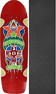 Dogtown Skateboards Red Dog Triplane Pool Red Skateboard Deck - 8.87