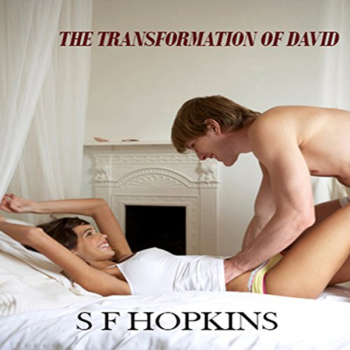The Transformation of David audiobook cover art