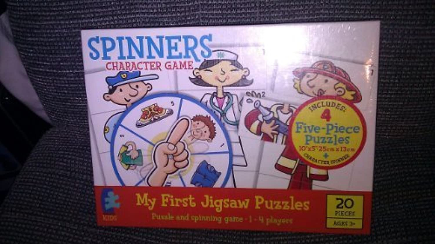 Spinners Character Game by Ceaco Kids