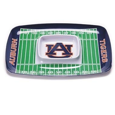 BSI NCAA Auburn Tigers Melamine Chip and Dip Tray