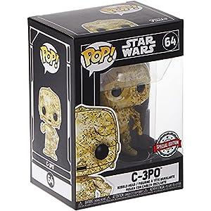 Star Wars Funko Pop Futura Skin C-3PO Bobble-Head (Exclusivo) 15