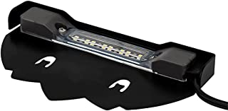 Arrownine New Hardscape Lighting 5Watt 6.2-Inch 2700K Hardscape Deck Step and Bench Lights with Mounting Bracket Black Color Finish