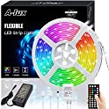 A-1ux 50-Feet RGB Color Changing LED Strip Lights Kit