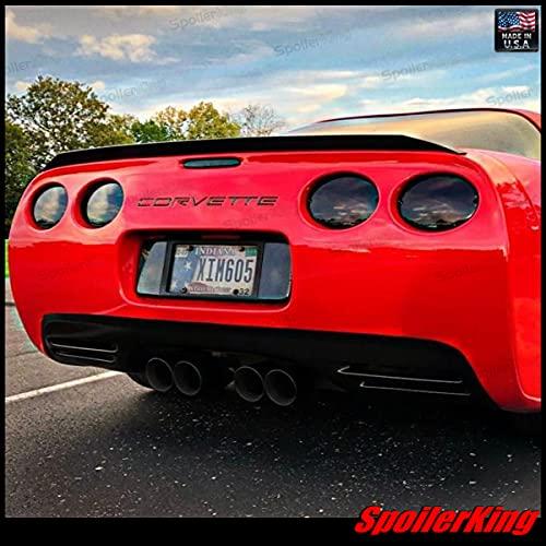 SpoilerKing Trunk Spoiler (284P) Compatible with Chevy Corvette C5 1997-2004