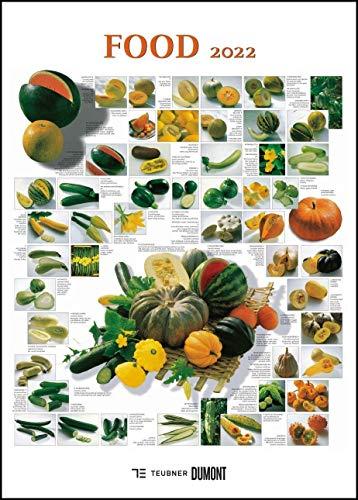 FOOD 2022 – Lebensmittel-Warenkunde – Küchen-Kalender von DUMONT– Poster-Format 50 x 70 cm
