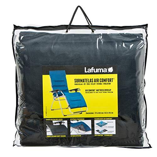 Lafuma gepolsterte Air Comfort Auflage, Anthrazit, LFM2852-7278