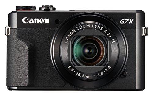 """Canon PowerShot G7 X Mark II Cámara compacta 20,1 MP 1"""" CMOS 5472 x 3648 Pixeles Negro - Cámara digital (20,1 MP, 5472 x 3648 Pixeles, CMOS, 4,2x, Full HD, Negro)"""