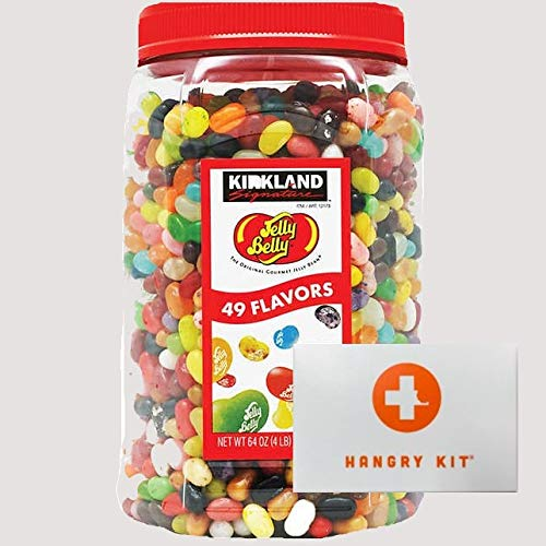 Kirkland Signature Jelly Belly Jelly Beans With Mini Hangry Kit || Bomber Bundle || (1 Tub)
