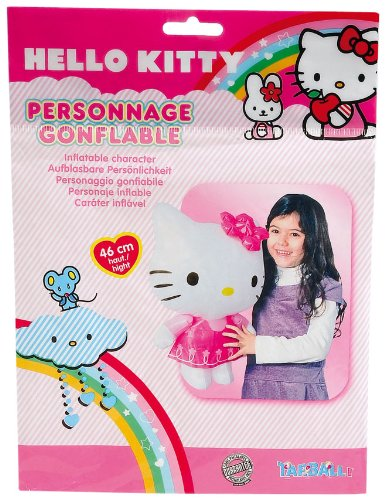 WDK Partner - A1100247 - Jeu de Plein Air - Personnage gonflable Hello Kitty