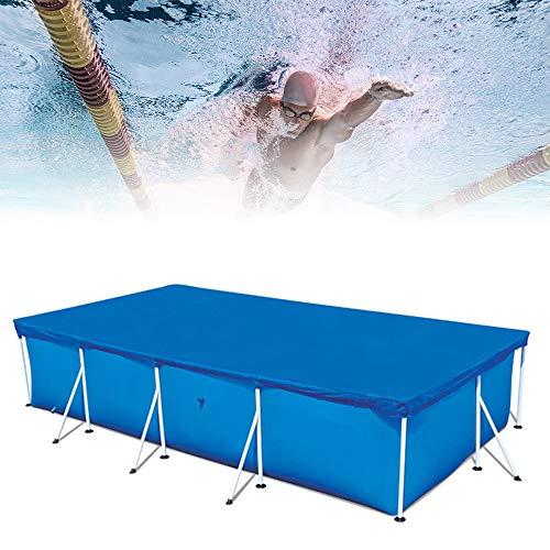 Cubierta rectangular de piscina, lona de piscina, impermeable, antirayos UV, 300 x...