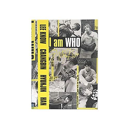 STRAY KIDS I am Who (I am Version) 2nd Mini Album CD+Photobook+3 QR Photocards+Lyrics Poster+(Extra 4 Photocards and 1 Double-Sided Photocard Set)