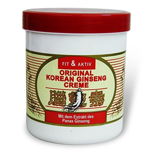 ORIGINAL KOREAN GINSENG CREME - Avec l'extrait de ginseng Panax ( 1 x 500 ml)Crème Hydratante