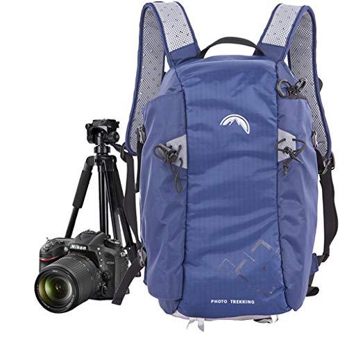 WUZHENG Mochila de cámara DSLR Profesional con Cubierta de Lluvia para Canon, Nikon, Sony, Olympus, Samsung, Panasonic, Modelos Pen