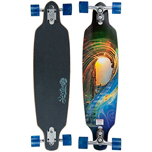 Sector 9 Fractal Complete Skateboard, 9.0 x 36.0-Inch California