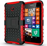 For Microsoft Lumia 550 - Hard Silicone Strong Heavy Duty
