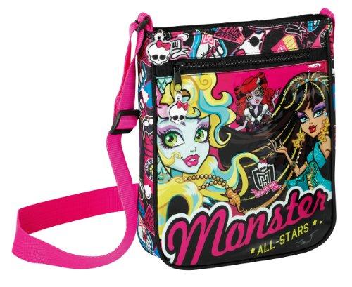 Monster High Tasche Nefera Frankie Stein Draculaura Schultertasche Umhängetasche klein 2013