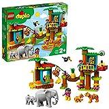 LEGO DUPLOTown IsolaTropicale, Set di Costruzioni,Giocattoli Educativi e Avventurosiper Bambini dai2ai 5Anni con 6 Figure di Animali Duplo, 10906