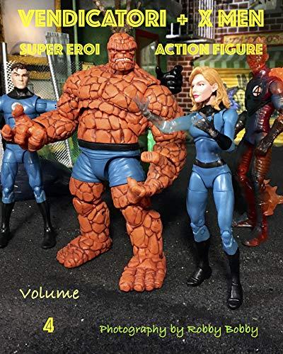 VENDICATORI + X MEN: SUPER EROI ACTION FIGURE (Italian Edition)