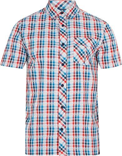 McKINLEY Herren Astra UX Bluse, 900 Multicolor/Bluep, 3XL