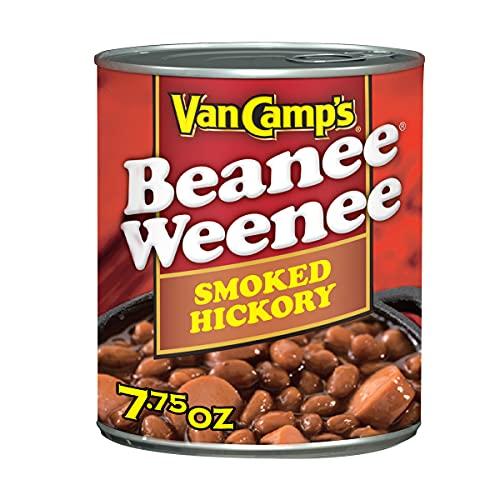 Van Camp's Smoked Hickory Beanee Weenee, Canned Food, 7.75 OZ (Pack of 24)