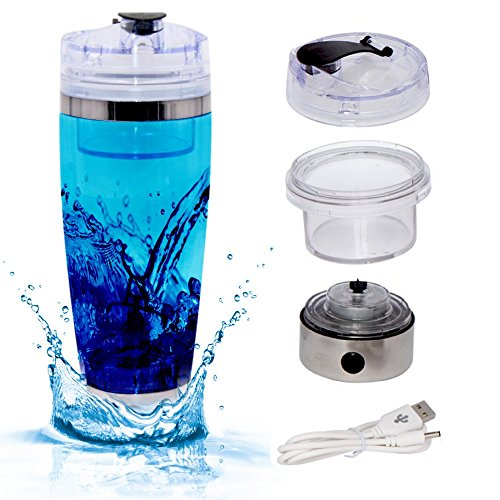7LMiXX New & Improved Large Size Stainless Steel Electric Shaker Vortex Mixer