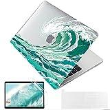 MUSHUI 4 in 1 Funda para MacBook Pro 13 Pulgadas 2020 - 2016, A2338 M1...