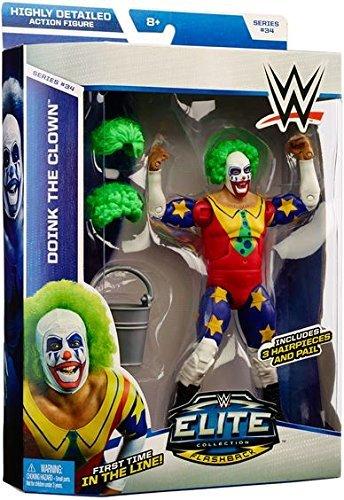 WWE Elite Collection Doink The Clown Multi Colour