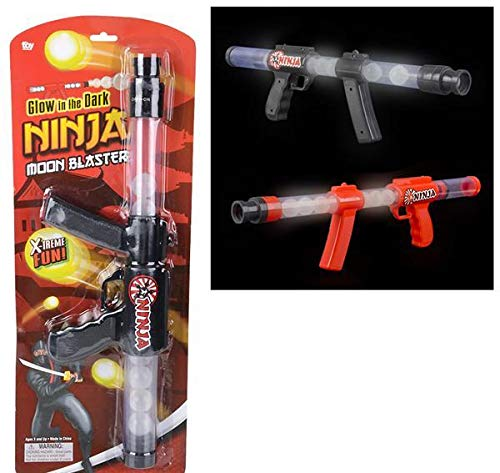 Amazing Deal DollarItemDirect 19 inches Glow in The Dark Ninja Moon Blaster Carded, Case of 24