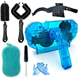Ultrafashs Bicycle Cleaning Tools Set 7 Pcs:Bike Chain Scrubber Cleaning Brush Tool for Mountain|Road|Park|Hybrid|BMX Fit All Bike.