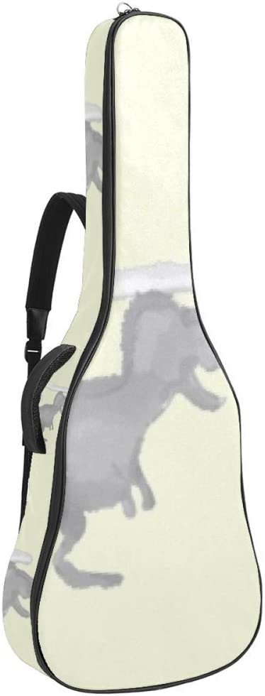 Guitar Seasonal Wrap Introduction Gig Omaha Mall Bag Waterproof Zipper Soft Backpack Bass Acou
