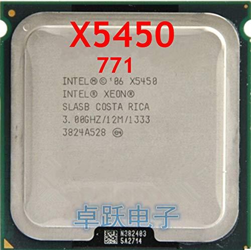 X5450 3.0GHz/12M/1333 Processor Close to LGA771,Works on LGA 775 mainboard 2 Conversion Stickers Pieces Free