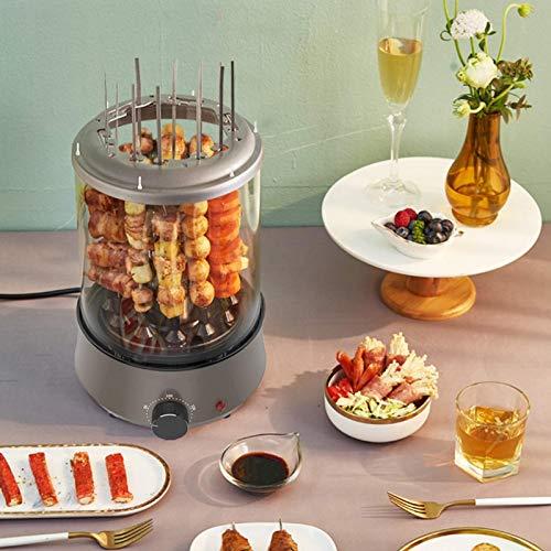 DFBGL Máquina de cocción de Olla Caliente eléctrica portátil para el hogar, Parrilla eléctrica para Kebabs, Parrilla eléctrica sin Humo, Parrilla de Barbacoa de Interior, máquina de Parr