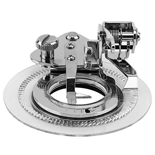 iFCOW Prensatelas circulares del patrón del disco de la máquina de coser del hogar gana la puntada de la flor