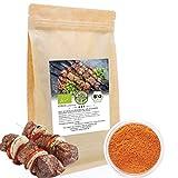 Bio Gourmet-Gewürzmischung Schaschlik 200 g | Feinste Edel-Gewürze nach Russischer Art aus Ökologischem Anbau | Nachfüllpack