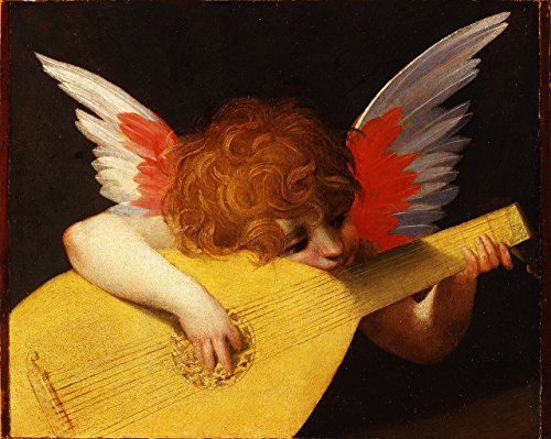 Musical Angel by Rosso Fiorentino Poster Art Photo Great Paintings Posters Photos 11x14