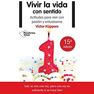 Vivir la vida con sentido [Living Life with Feeling] audiobook cover art