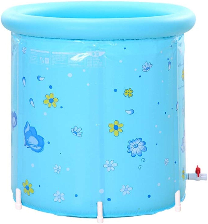 Aufblasbare badewanne klappbar mode badewanne halterung einfach und praktisch geeignet für erwachsene und kinder 80cm  80cm (Farbe   A)