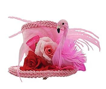 Forum Novelties Women s Flamingo Mni Hat Pink One size