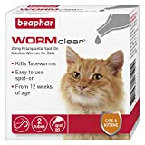 Beaphar WORMclear Spot-On Solution for Cats, 20 mg